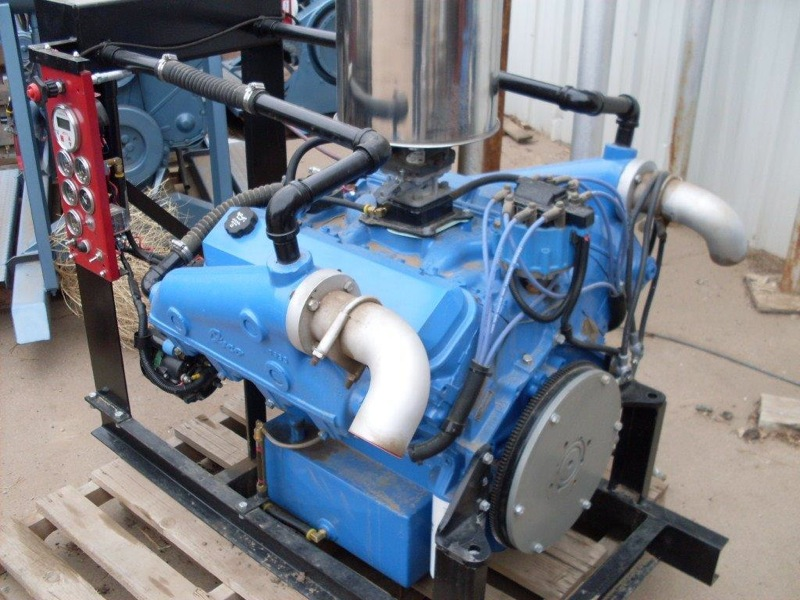 Jies Performs Industrial Engine Work Irrigation Pump